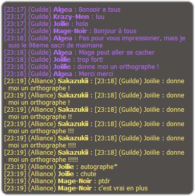 Le Come Back du Félin. (Mage)