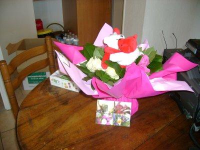 joli bouquet de fleur blog de ludo35131love. Black Bedroom Furniture Sets. Home Design Ideas
