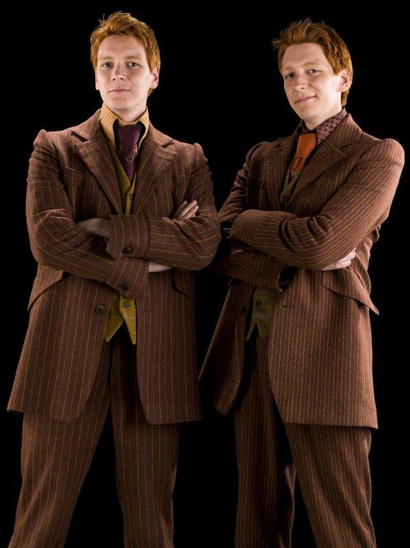 Fred et George Weasley
