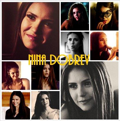 Présentation de Nina Dobrev personnage de ma fiction.