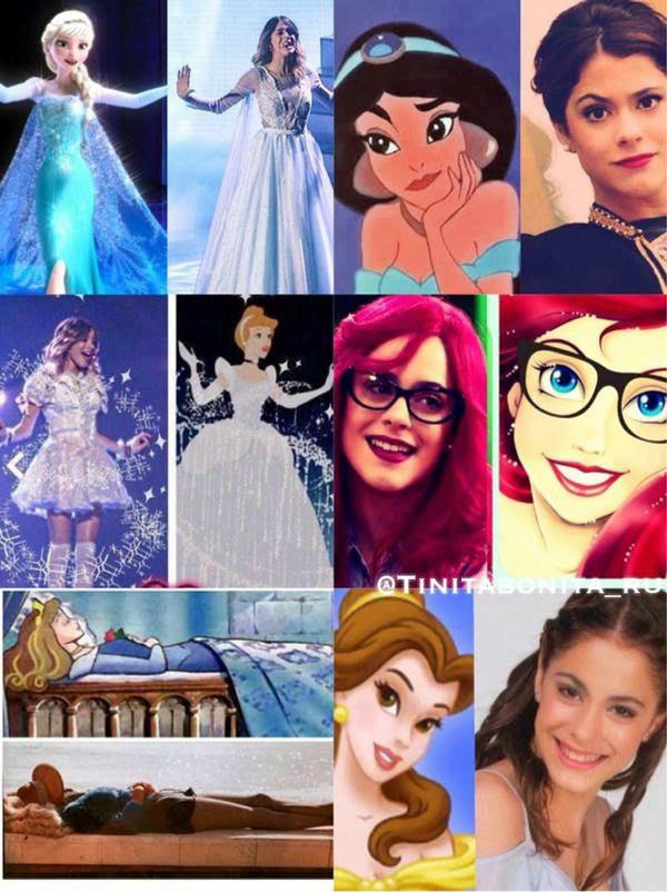 Tini la princesse !! ❤❤❤