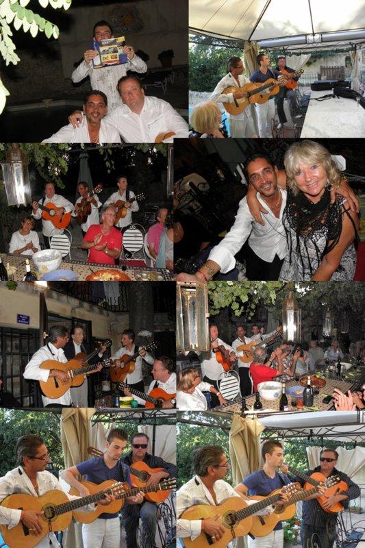 (Joie de Vivre unlimited) soirée privée à St Maximin chez amanda
