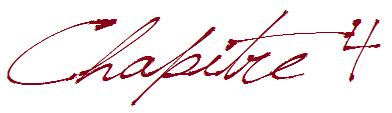 Chapitre 4 : Révélations