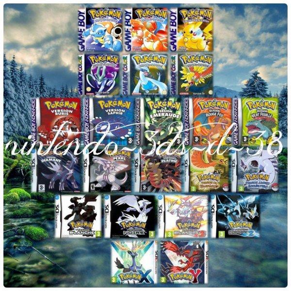 Pokémon, mon jeu préféré !