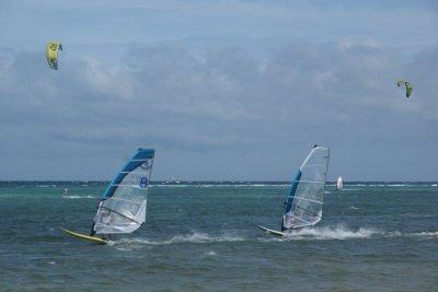Windsurf un de mes anciens sport