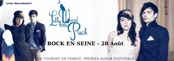 "Accueil du blog consacré à ""Lilly Wood & The Prick"""