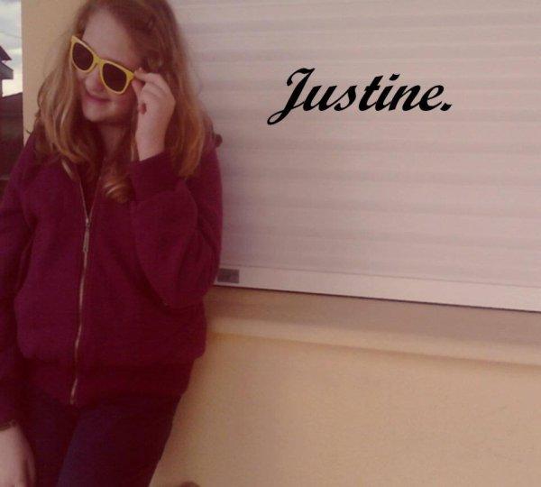 Justine.♥♥ :B
