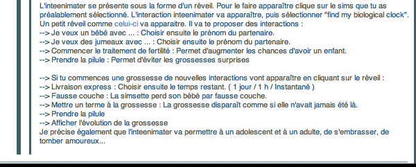 _____» ARTICLE ASTUCE : Inteenimater ( Relations Adultes / Ados ) ___________________________________________________ A4S_Ta source n°1 de téléchargements Sims 2___________________________NEWSLETTER DU BLOG - SOMMAIRE - FORUM A4S
