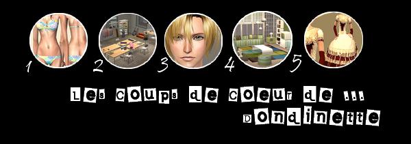_____» ARTICLE COUP DE COEUR DE ... : Dondinette_______________________LIVRE D'OR  - AMIS  - FAVORIS - BLOG STAR ?_ A4S_Ta source n°1 de téléchargements Sims 2___________________________NEWSLETTER DU BLOG - SOMMAIRE - FORUM A4S