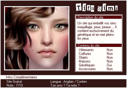 _____» ARTICLE SITES : Tifa Sims'_____.____________________________________LIVRE D'OR  - AMIS  - FAVORIS - BLOG STAR ?_ A4S_Ta source n°1 de téléchargements Sims 2______________________________________________________________