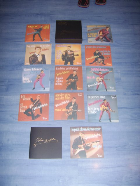 coffret vinyl johnny hallyday collector 1960-1691