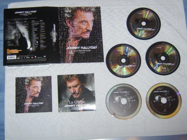 Flashback tour édition 2 DVD et 4 CD