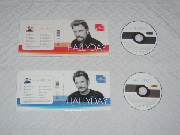 Johnny Hallyday vol.1 et vol.2