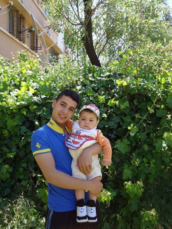 C'est moi avec mon fils :3