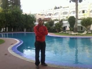 la piscine d'hotel ZAKI