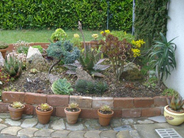 Jardinière en briques !