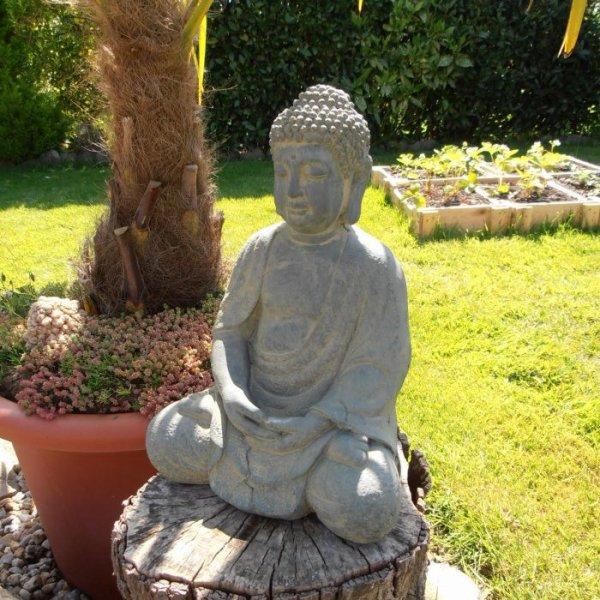 Fontaine et Bouddha, nouveaux décors