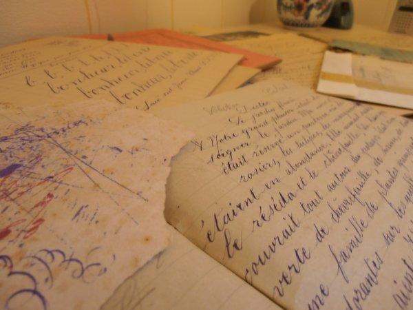 vieux papiers