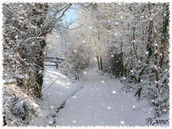 la neige aujourd'hui