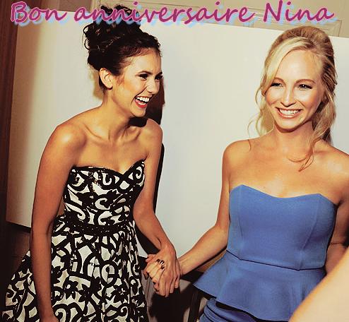 Joyeux Anniversaire et Twitter de Nina