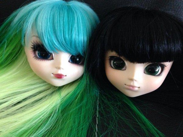 Les dolls sans corps. :3