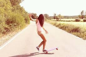 La meuf ki fait du skate je l'épouse !!!!!!!!