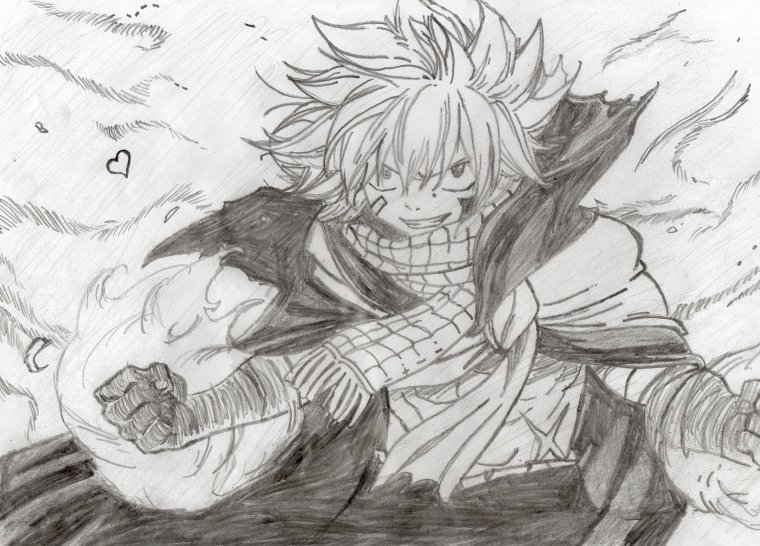 Natsu Dragneel after a year ♥