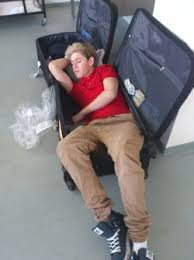"""Niall mange tout le temps parce qu'à l'intérieur de lui, il y a un ange qui mange tout. C'est aussi pour ça qu'il chante comme un ange."""""""