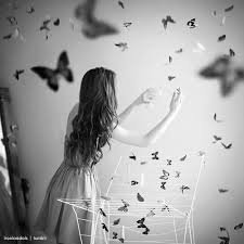 """""""L'amour est comme un papillon ; plus tu tentes de l'attraper, plus il t'échappera... Mais si tu ne lui donnes pas tout t'on attention, il viendra se poser doucement sur ton épaule..."""""""