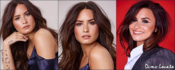 Découvrez trois photos d'un nouveau photoshoot de Demi Lovato pris par Dennis Leupold.
