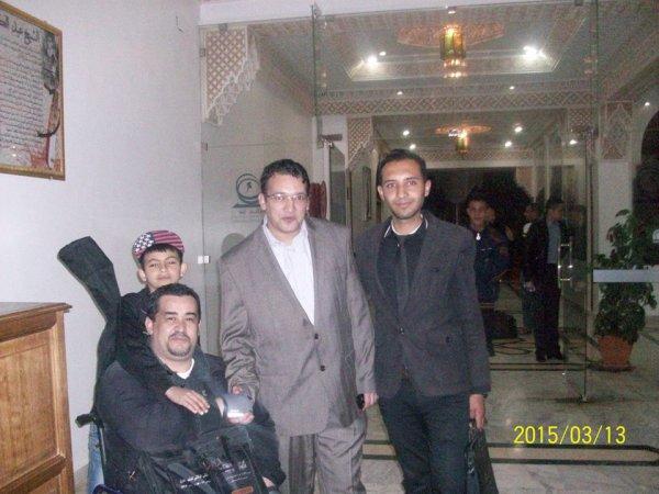 بغداد سايح في قصر الثقافة بتلمسان