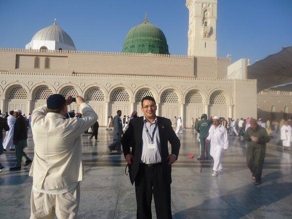 بغداد سايح في المدينة المنورة