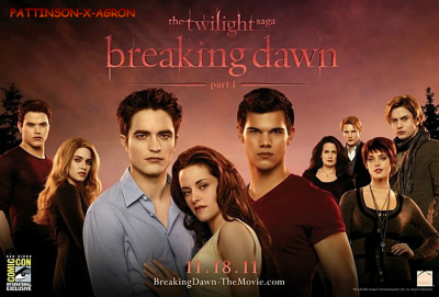 Poster Breaking Dawn *