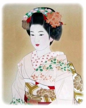 Coiffures Des Geisha Les Chignons Ou Shimada Midiaou