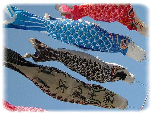 Fête japonaise du 5 mai et thème vent ...