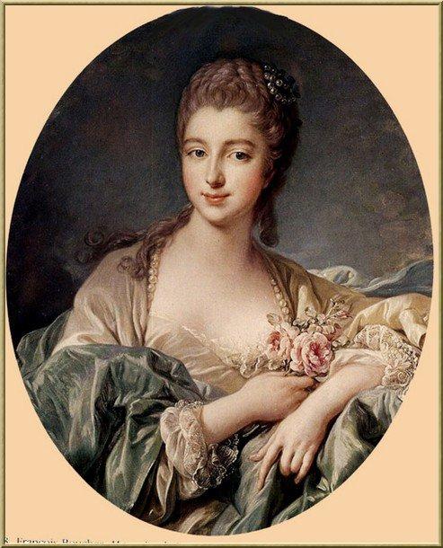 Une femme, une rose, un peintre et un peu d'histoire ...