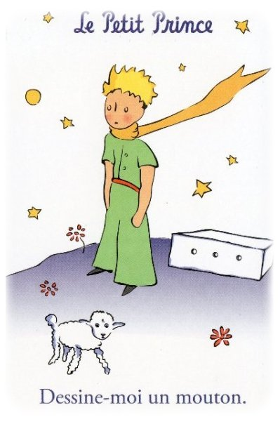 Sur une des portes dans l'article suivant, on peut voir le Petit Prince ...