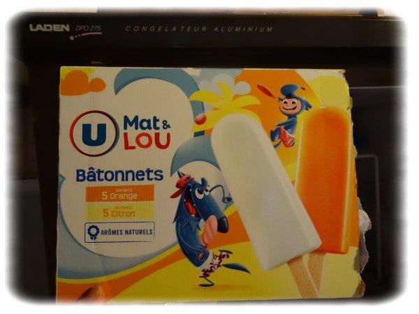 Puisqu'on est dans les crèmes glacées, souvenir d'enfance pour mon fils ...