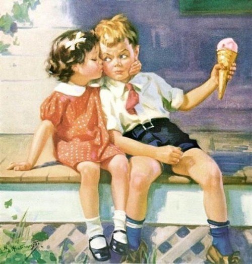 Et comme j'adore Norman ROCKWELL ...