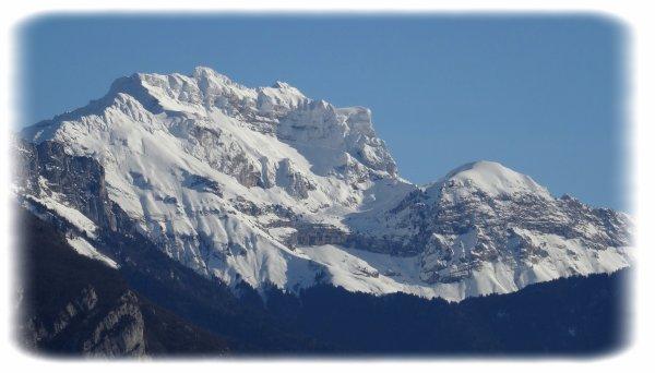 Nos montagnes vues de mes balcons ...