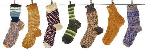Histoires de chaussettes ...