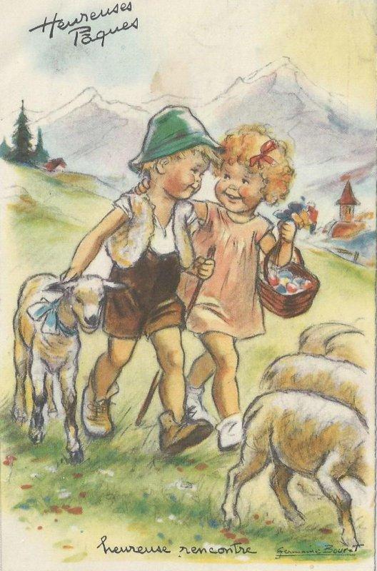 Avec ces illustrations de Germaine BOURET ...