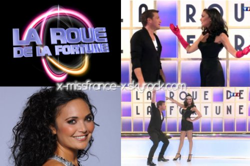 val rie dans la roue de la fortune partir du 02 janvier sur tf1 11h05 x missfrance x. Black Bedroom Furniture Sets. Home Design Ideas