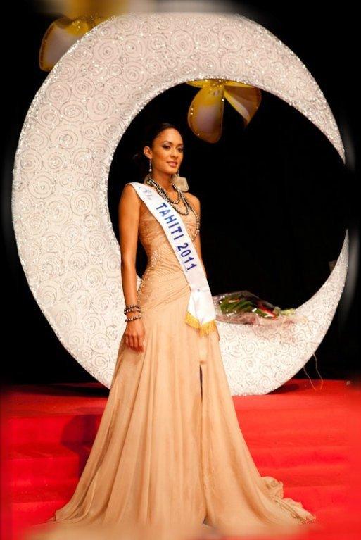 Candidates au titre de Miss Tahiti 2012 (22 Juin 2012)