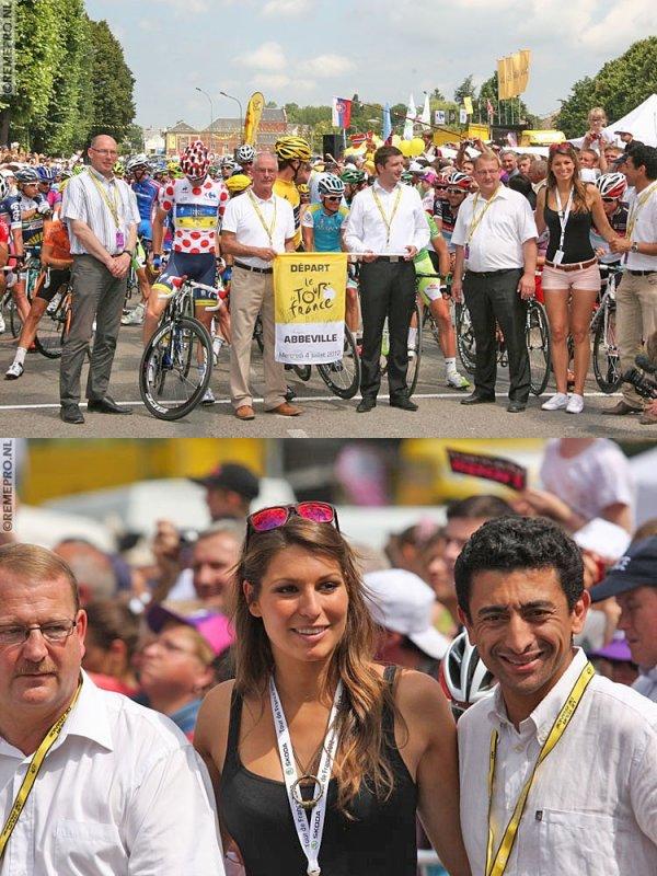 Laury au Tour de France avec Skoda