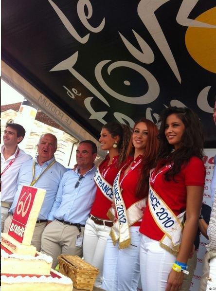 Delphine, Laury, Malika et Sylvie au Tour de France