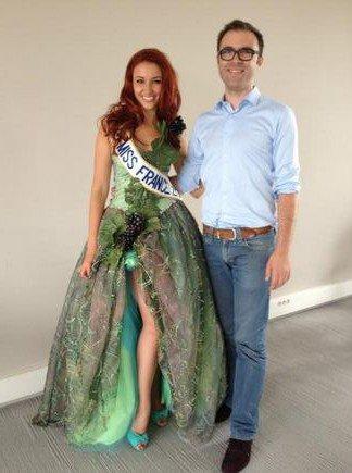Delphine est prête pour Miss Monde