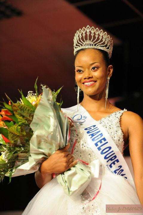 Cynthia Tinedor est Miss Guadeloupe 2012