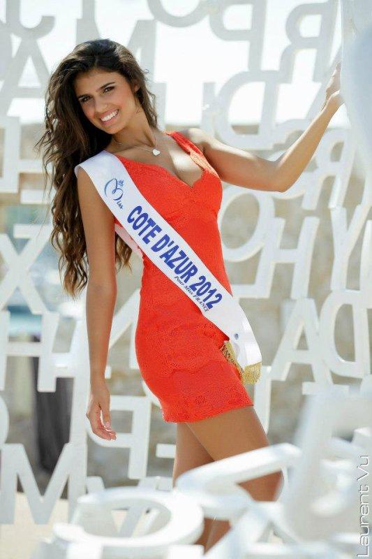 Charlotte Mint est Miss Côte d'Azur 2012
