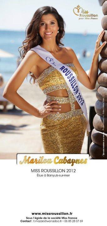 Marilou Cubaynes est Miss Roussillon 2012